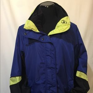 Columbia ladies jacket interchangeable Size large